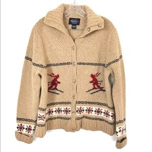 Eddie Bauer Classic Lambswool Sweater